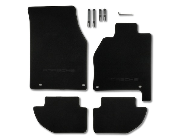 Floor mats in Black for Porsche 944 and 968 (RHD)