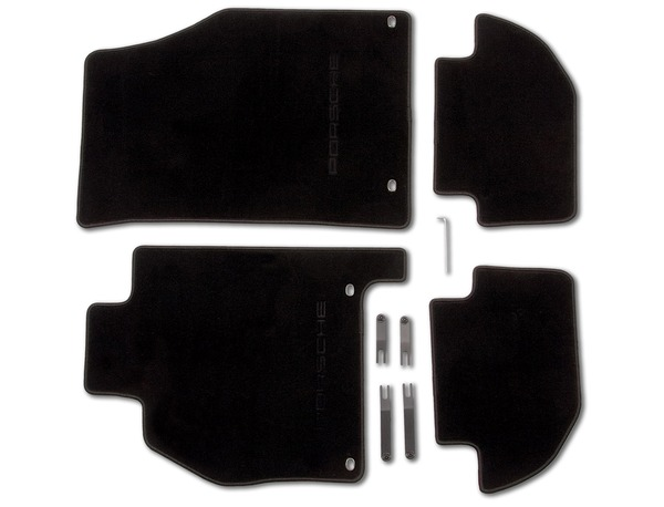 Floor mats in Black for Porsche 928 (LHD)
