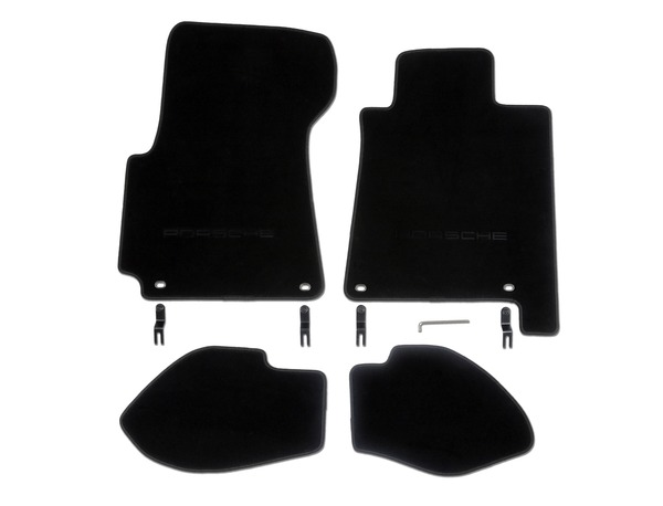 Floor mats in Black for Porsche 928 (RHD)
