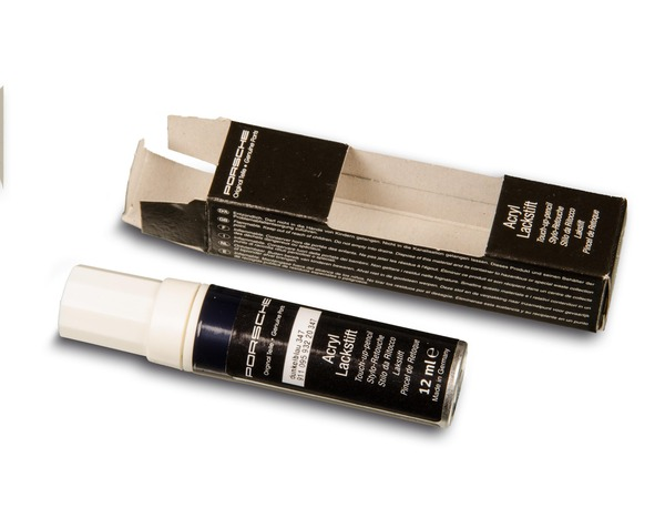 Paint touch-up applicator in Dark Blue for Porsche 911, 928, 964, 986 and 996