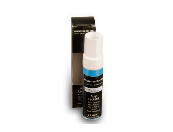Paint touch-up applicator in Riviera Blue for Porsche 928, 964, 968 and 993