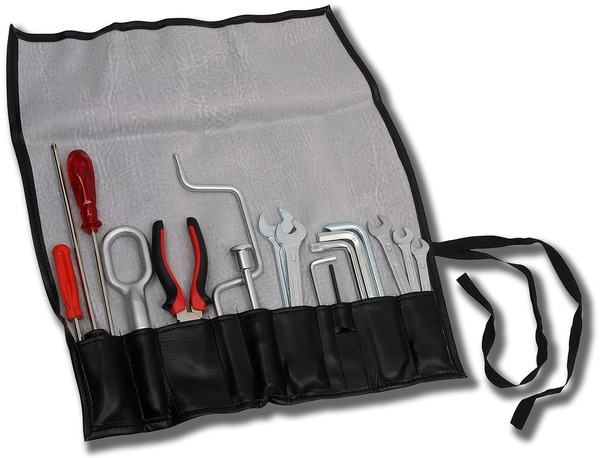 Tool roll for Porsche 964 Turbo