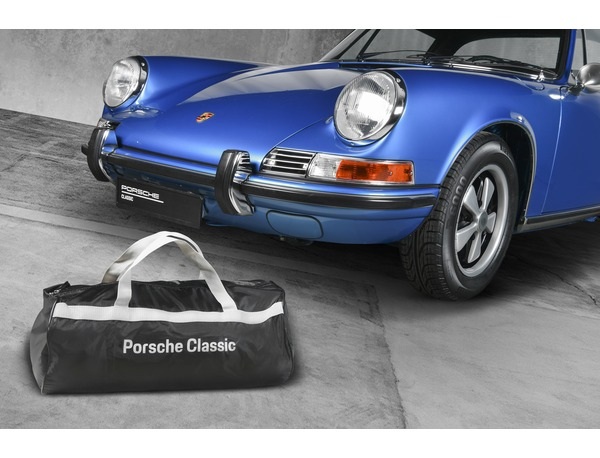 Car cover for Porsche 911, 912 and 964 without spoiler, but with left exterior mirror