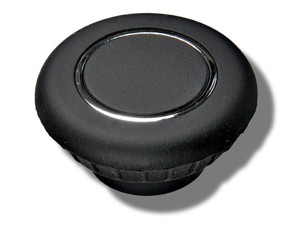 Button for Classic control part in black for Porsche Classic radio navigation system with TMC