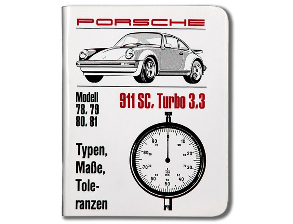 Technical Specifications, 911 SC, 911 Turbo (MY 78-81)